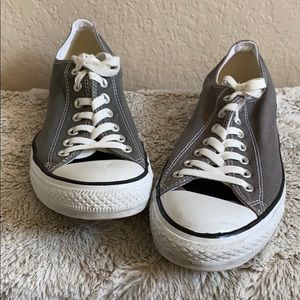 Converse All star sneakers in dark gray